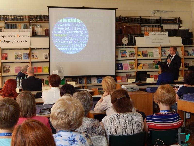Zdjęcie z artykułu: II NOWE OGÓLNOPOLSKIE FORUM BIBLIOTEK PEDAGOGICZNYCH
