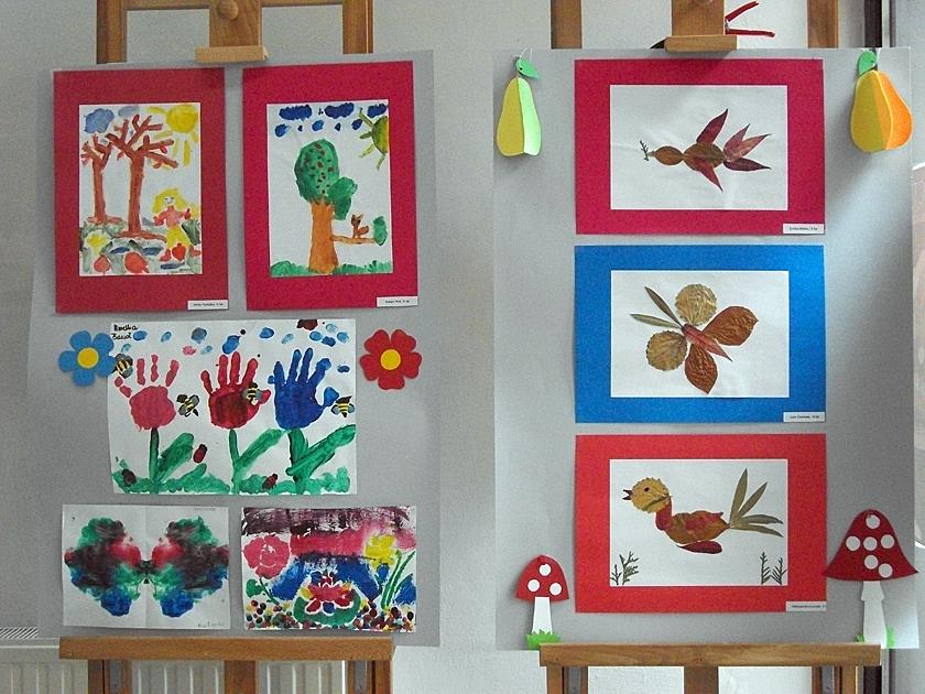 Zdjęcie z artykułu: Wystawa prac plastycznych dzieci